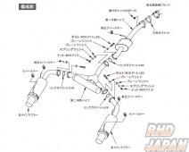HKS Hi-Power Spec L Muffler Exhaust System - S2000 AP1 AP2