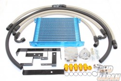 Trust GReddy Oil Cooler & Filter Relocation Kit 16 Row - S14 S15