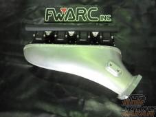 Flatwell Super Intake Manifold Black - SR20 NEO VVL RWD
