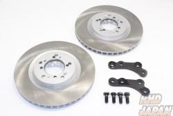 Rubber Soul Brake Rotor Bracket Kit No-Slit Dixcel - Hakosuka Kenmeri