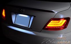 78 Works Fiber Full LED Tail Set - Mark X GRX120 GRX125 GRX121