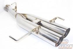 Howakan HP Twin-Tip Muffler Exhaust - ER34 2 door