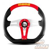 MOMO Trek Steering Wheel 350mm - Red