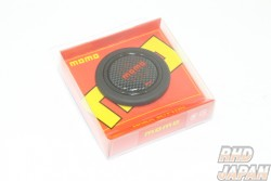 MOMO Horn Button - Carbon Red