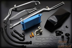 Trust GReddy Dual Clutch Transmission DCT Oil Cooler Kit - R35 to Nov 2010
