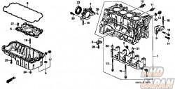 Honda OEM Engine Mount Bracket Bolt Stud - Civic CR-V