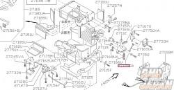Nissan OEM Holder Rod - 27128GA