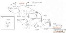 NISSAN OEM Accelerator Wire Assembly - Fairlady Z Z32
