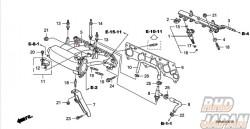 Honda OEM RRA Air Assist Inlet Tube - Civic FD2 Type-R