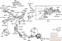 Toyota OEM Fuel Filter - JZA80 2JZGTE