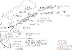 Nissan OEM Injector Insulator - 16603G