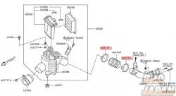 Nissan OEM Hose Clamp - S15