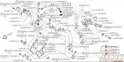 Nissan OEM Air Inlet Hose - S15