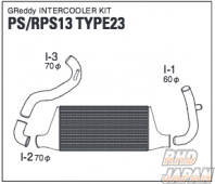 Trust GReddy Front Mounted Intercooler Kit TYPE23F - PS13 RPS13