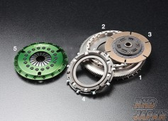 OS Giken GT Street Master Clutch Flywheel Mono Metal Soft Cover - GC10 HR30 C110 C210 S30 S130