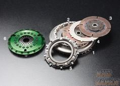 OS Giken GT Street Master Clutch Flywheel Twin Metal Hard Cover - JZA80 6MT