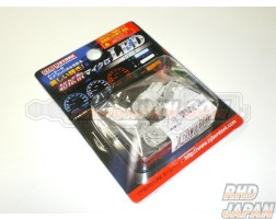 Cyber Stork Micro LED Bulb Gauge Cluster Meter - T5 Luxury Blue