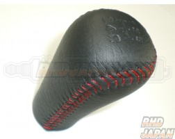 Mazda OEM Spirit-R Red Stitch Shift Knob - FD3S