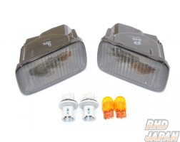 Nismo S-Tune Front Winker Marker Set Smoked - R34