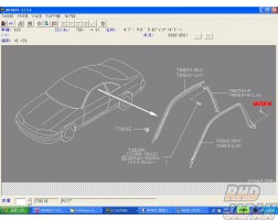 Nissan OEM Clip 04781 R33