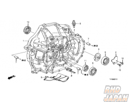 Honda OEM Gearbox Bearing 30X72X17 - K20A