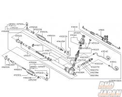 Nissan OEM Plate Lock Side Rod - 49635M