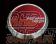 YOKOHAMA Advan Racing Center Cap Flat 73mm - Candy Red