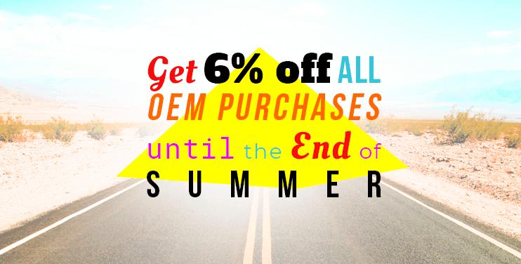 oem summer sales